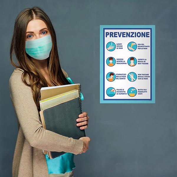 segnaletica covid-19 - prevenzione