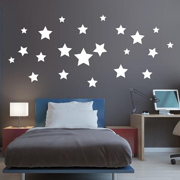 adesivo glow - big stars 1