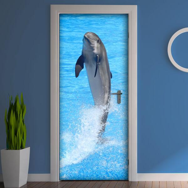 rivestimento per porta - delfino