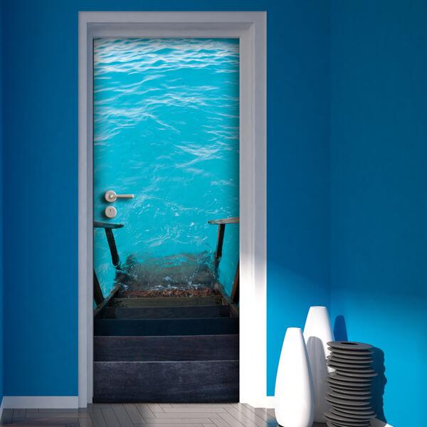 rivestimento per porta - diving