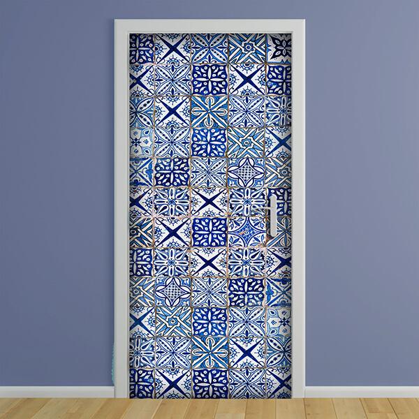 rivestimento per porta - azulejos