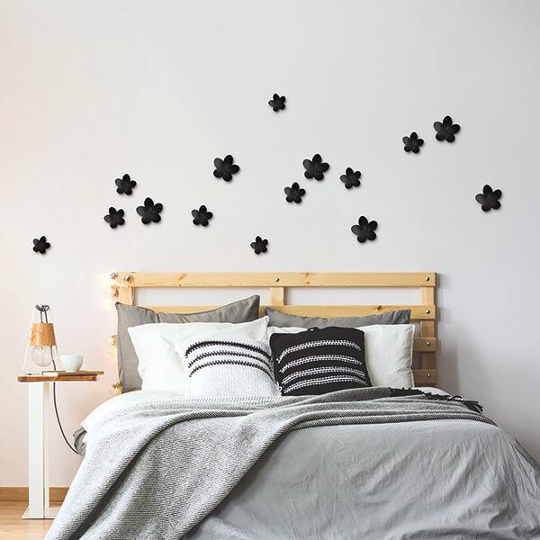 spring decor - Black Hibiscus
