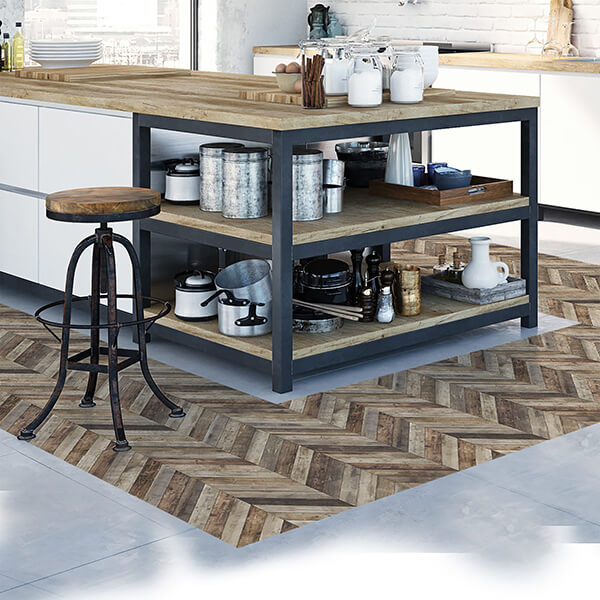 Rivestimenti per pavimenti - crossed wood