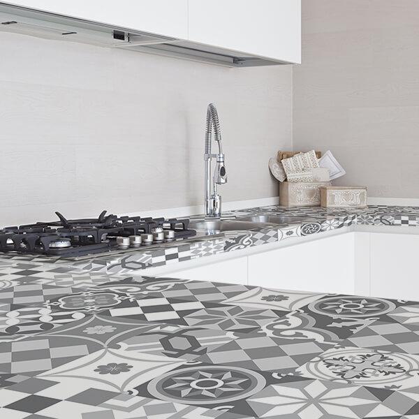 Rivestimenti per piani cottura - light tiles