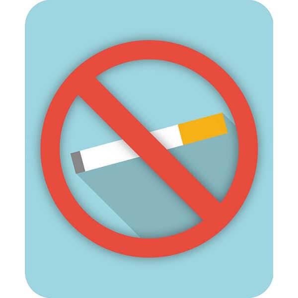 targhette in forex - vietato fumare disegno