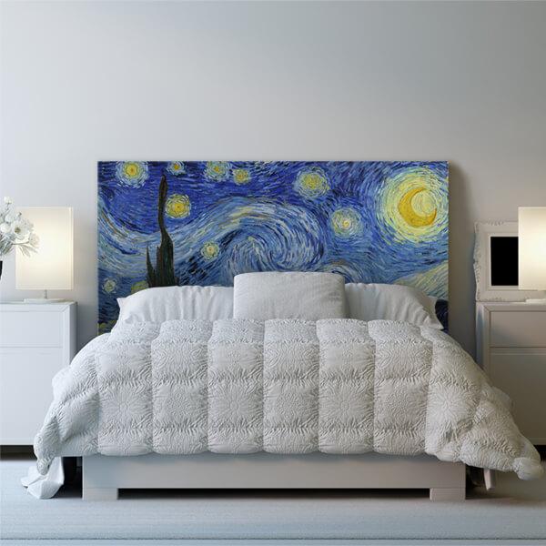 testiera letto matrimoniale - Van Gogh 1