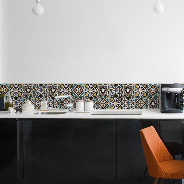 maxi bordi - green tiles