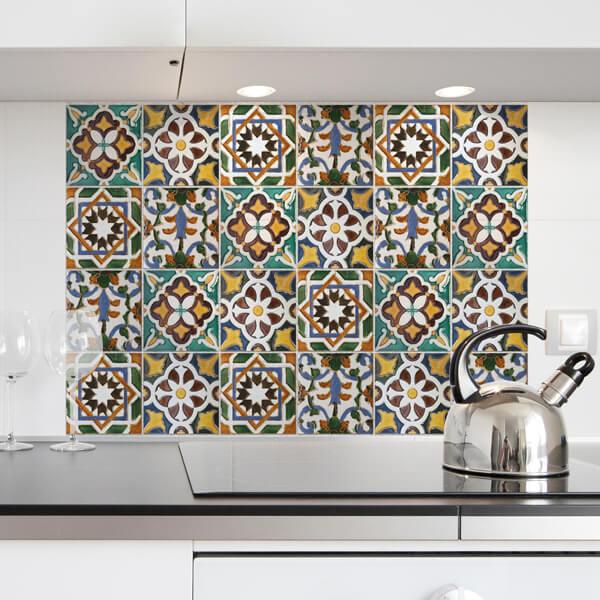 paraschizzi - green tiles
