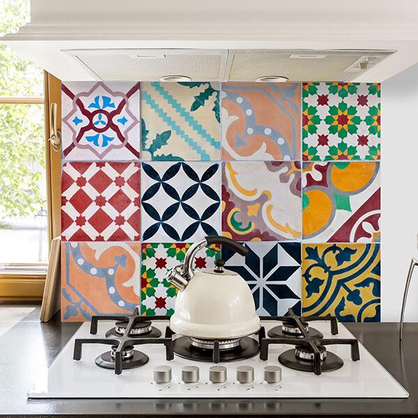 paraschizzi - colorful tiles