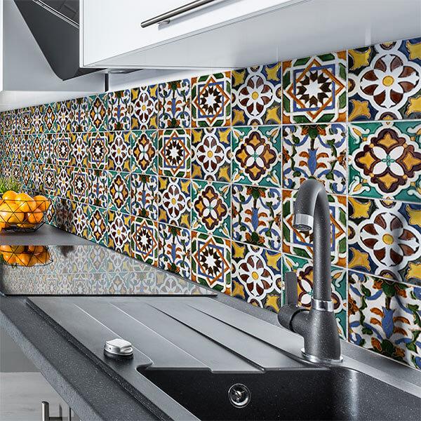 paraschizzi XL - green tiles