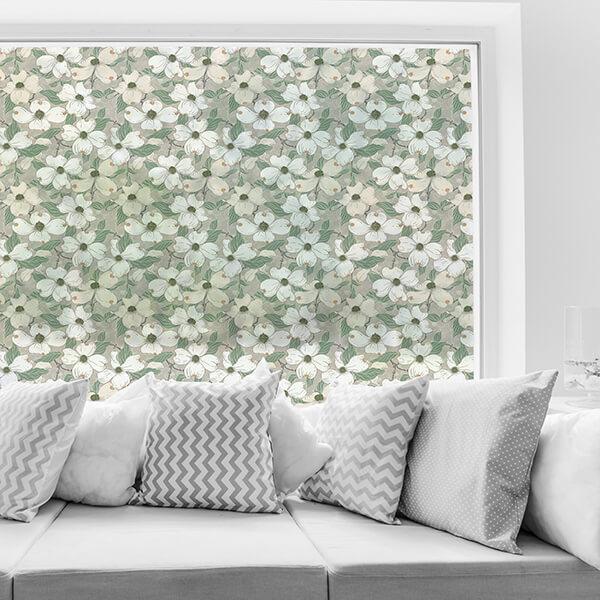 rivestimenti per vetri - white blossom