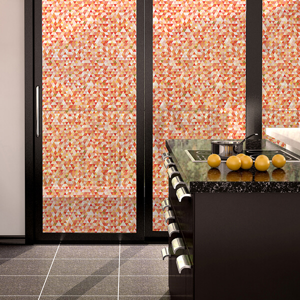 rivestimenti per vetri - geometric mosaic