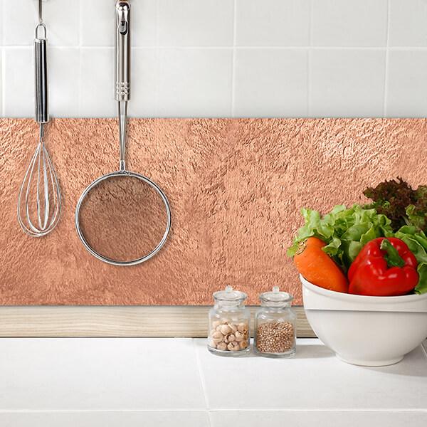 paraschizzi in alluminio bordure - bronze