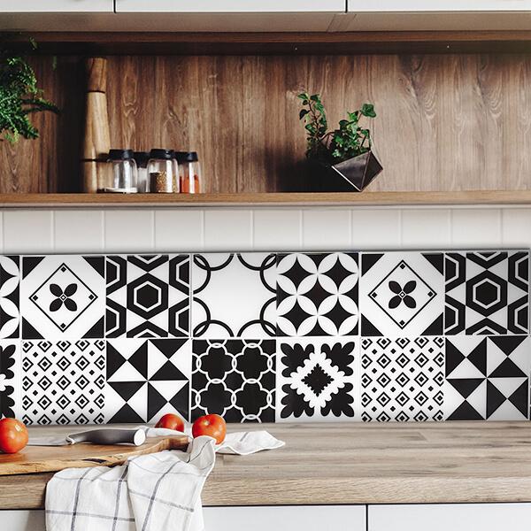 paraschizzi in alluminio bordure - b-w azulejos