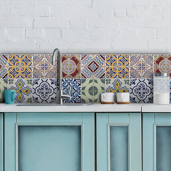 paraschizzi in alluminio bordure - azulejos -
