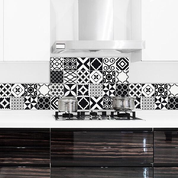 paraschizzi in alluminio abbinato - b-w azulejos