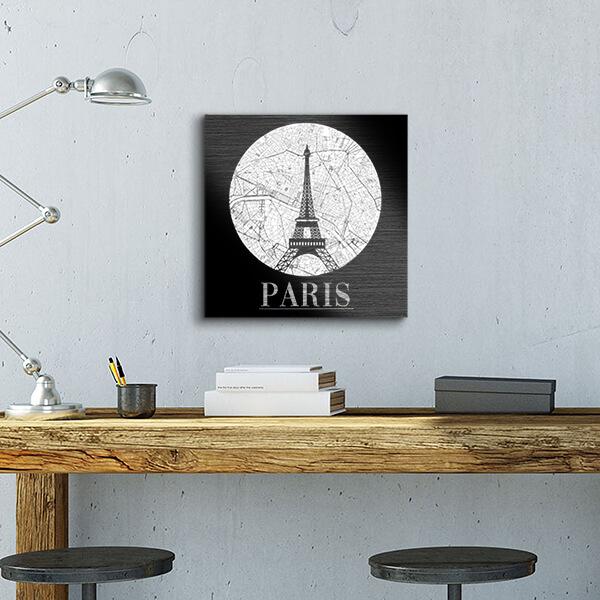quadri in alluminio - Paris 29x29