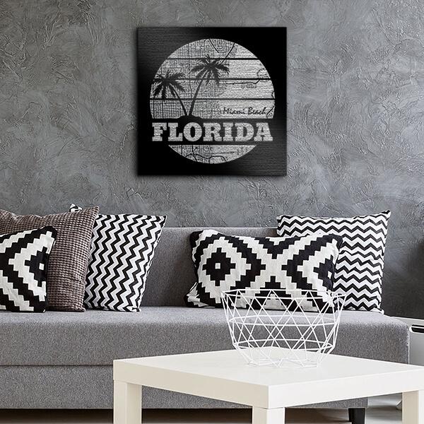 quadri in alluminio - Florida 29x29