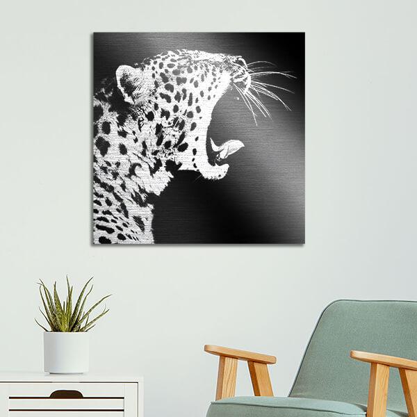 quadri in alluminio - Cheetah 47x47