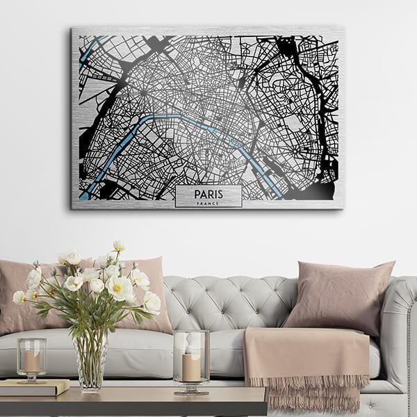 quadri in alluminio - Paris 48x72