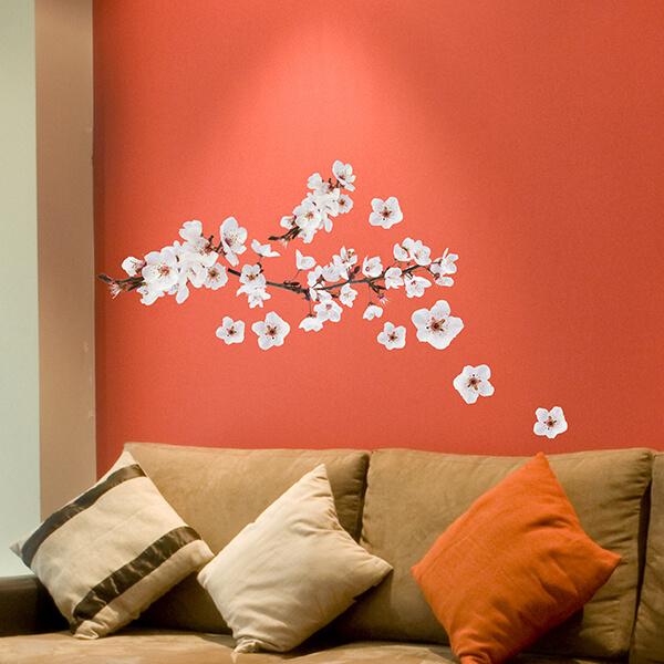 adesivi murali L - photographic blossom
