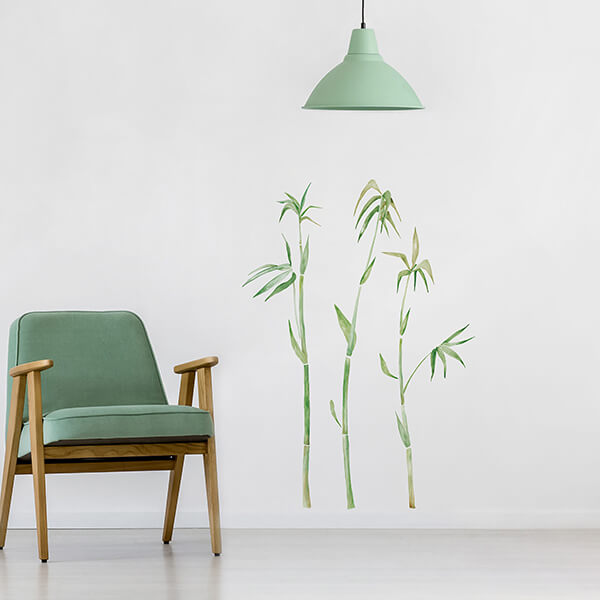 adesivi murali L - bamboo1
