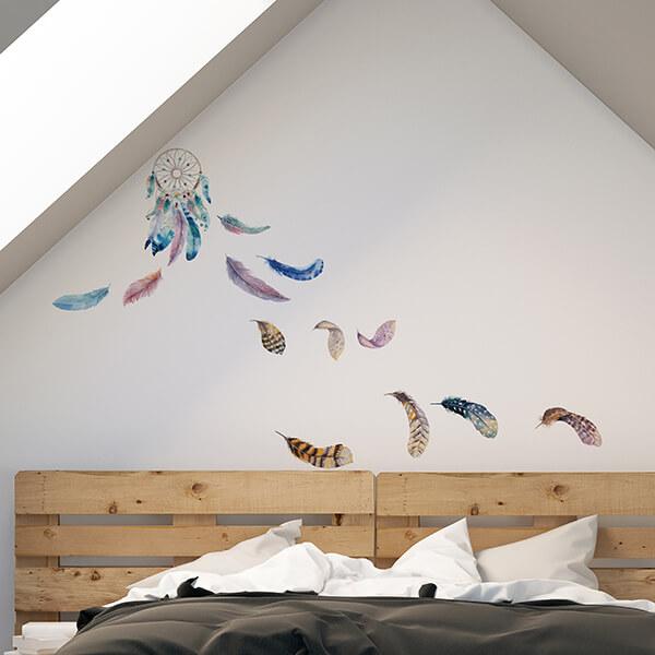adesivi murali s - watercolour dreamcatcher