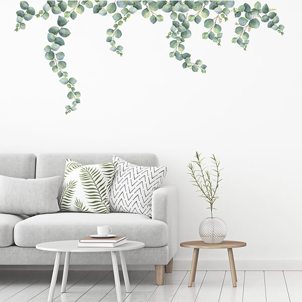 adesivi murali m - eucalyptus leaves