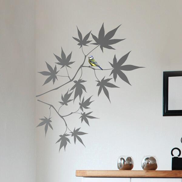 adesivi murali m - acero giapponese