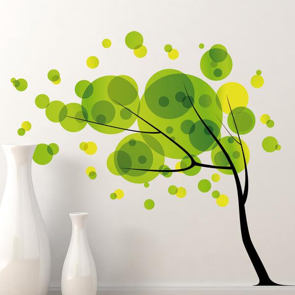 adesivi murali L - albero design