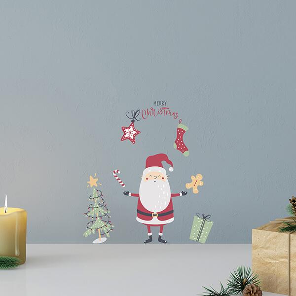 scritta adesiva - Merry Christmas