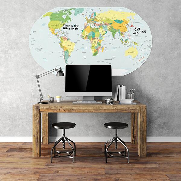 lavagna adesiva planner 120x180
