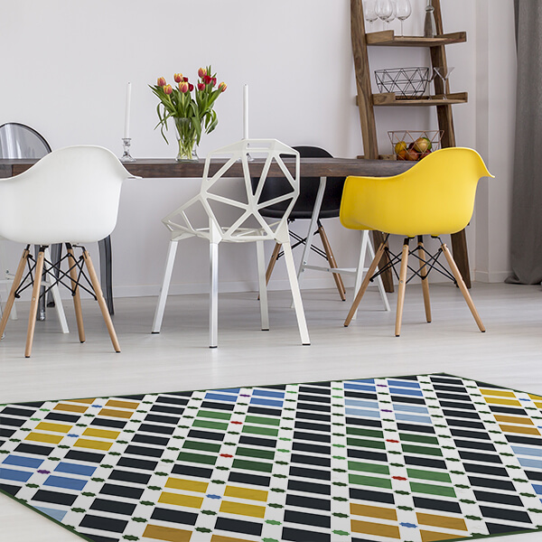 tappeto - colourful squares