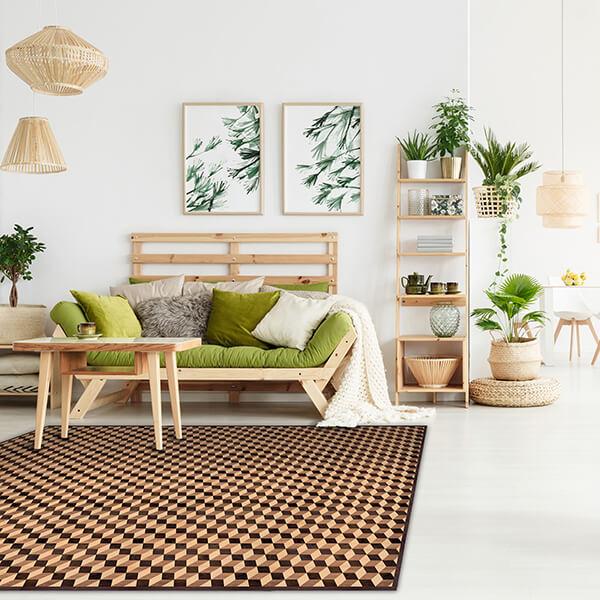 tappeto - geometric parquet
